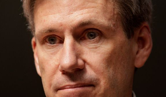 """J. Christopher Stevens, the U.S. ambassador to Libya who was killed in an attack on the U.S. Consulate in Benghazi, Libya, on Tuesday, Sept. 11, 2011, is pictured in Benghazi on Wednesday, April 11, 2011. Leaders of a House committee have said U.S. diplomats in Libya made repeated requests for increased security for the consulate in Benghazi and were turned down by officials in Washington. In a letter to Secretary of State Hillary Rodham Clinton, Rep. Darrell Issa and Rep. Jason Chaffetz said their information came from """"individuals with direct knowledge of events in Libya."""" (AP Photo/Ben Curtis)"""