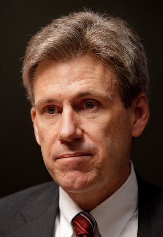 J. Christopher Stevens, the U.S. ambassador to Libya who was killed in an attack on the U.S. Consulate in Benghazi, Libya, on Tuesday, Sept. 11, 2011, is pictured in Benghazi on Wednesday, April 11, 2011. Leaders of a House committee have said U.S. diplomats in Libya made repeated requests for increased security for the consulate in Benghazi and were turned down by officials in Washington. In a letter to Secretary of State Hillary Rodham Clinton, Rep. Darrell Issa and Rep. Jason Chaffetz said their information came from &am