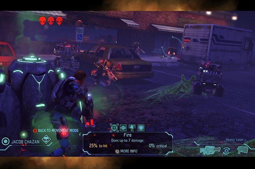 Turn-based combat is a deadly chess game of humans versus aliens in the video game XCOM: Enemy Unknown.
