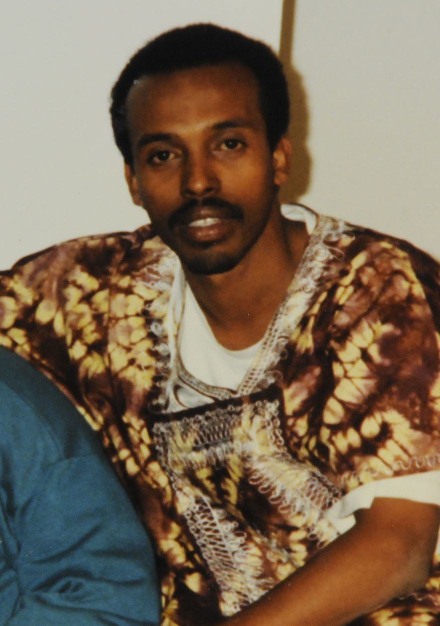 Mohamud Said Omar, shown in an undated family photo, is accused of providing money and personnel to al-Shabab, a U.S.-designated terror group at the center of much of the violence in Somalia. (AP Photo/Family of Mohamud Said Omar)