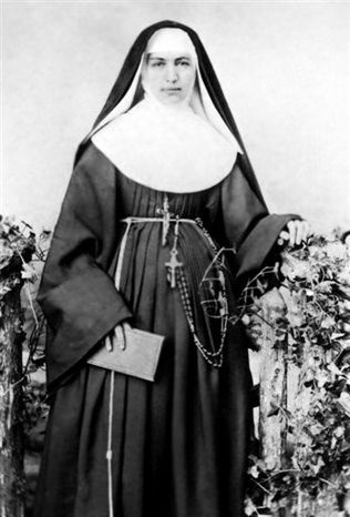 ** FILE ** This 1883 file photo provided by the Sisters of St. Francis of the Neumann Communities shows Mother Marianne Cope, a nun who dedicated her life to caring for exiled leprosy patients on Kalaupapa in Hawaii. On Sunday, Oct. 21, 2012, almost a century after she died at the remote Kalaupapa leprosy settlement in 1918, the Vatican will formally recognize her as a saint. (AP Photo/Sisters of St. Francis of the Neumann Communities, File)