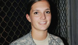 Army Pfc. Morgan Alford (Photo by Sgt. Ryan Hallock/U.S. Army)
