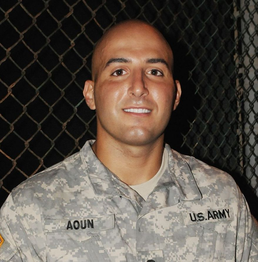 Army Spc. Danny Aoun, of Garden Grove, Calif, is a a guard at the U.S. military detention center in Guantanamo Bay, Cuba. (Photo by Sgt. Ryan Hallock/U.S. Army)