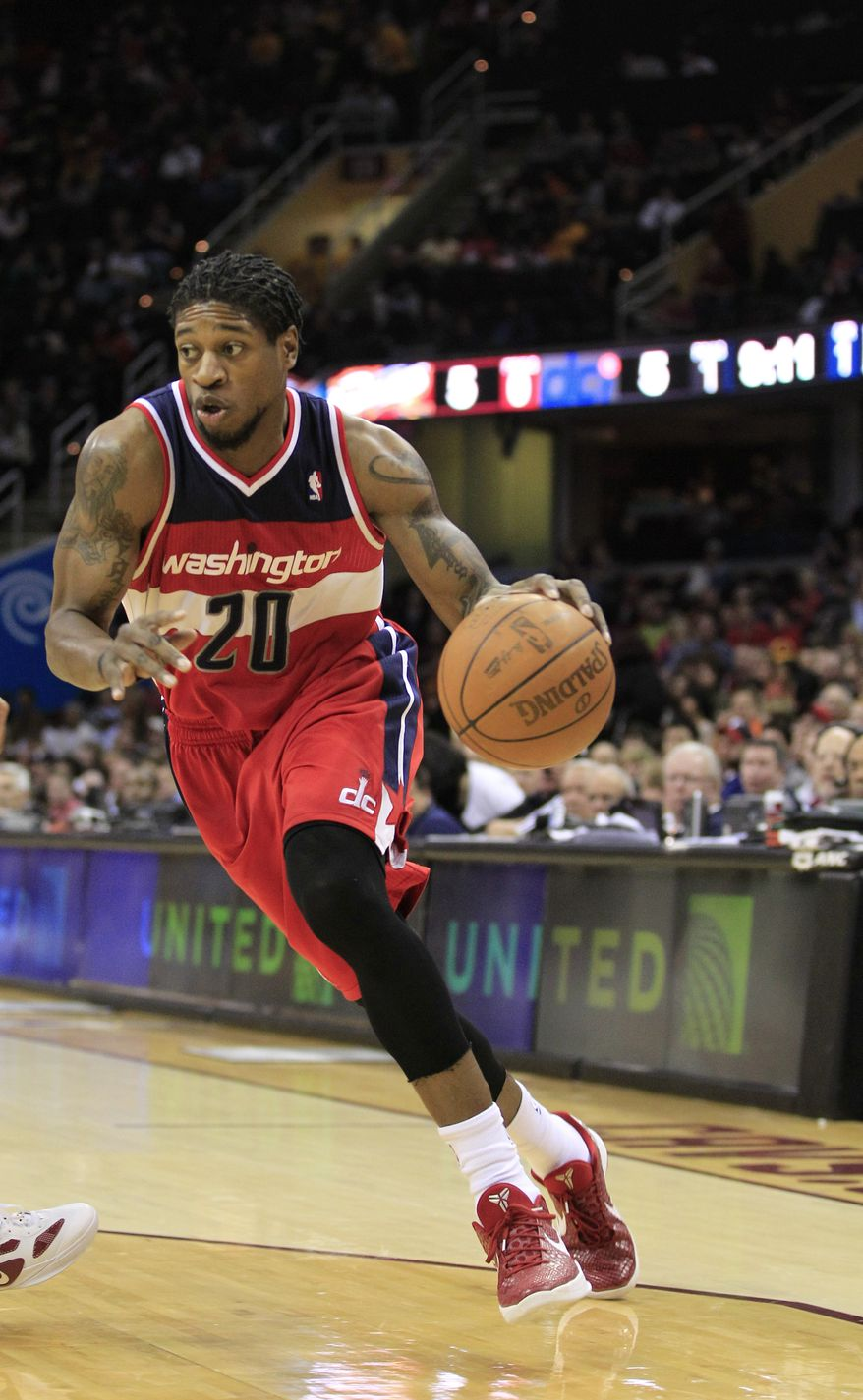Washington Wizards guard-forward Cartier Martin signed a one-year deal this offseason. (AP Photo/Tony Dejak)