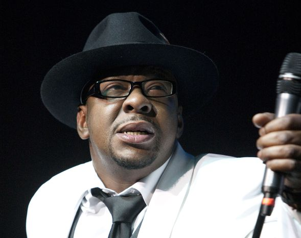 **FILE** Singer Bobby Brown, former husband of late pop star Whitney Houston, performs Feb. 18, 2012, at Mohegan Sun Casino in Uncasville, Conn. (Associated Press)