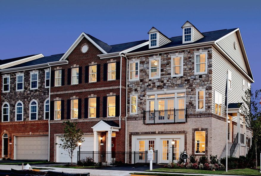 K. Hovnanian is building 122 town homes at River Pointe Towns in Leesburg. The homes have 1,942 to 2,554 finished square feet, with base prices from $389,990 to $459,990.