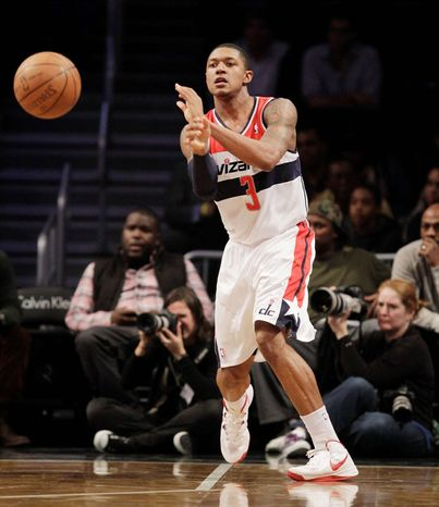 Bradley Beal averaged 17.6 points in being named to the all-NBA Summer League team. The Wizards are eager to see him paired with John Wall when the injured point guard returns. (Associated Press)