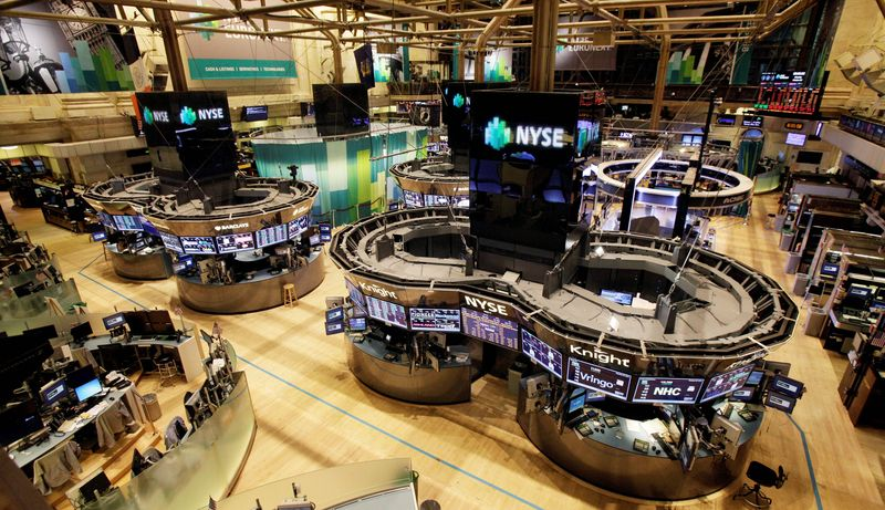 The floor of the New York Stock Exchange was without traders Monday as the market closed for the first time since the days after the terrorist attacks of Sept. 11, 2001. If the NYSE remains closed Tuesday, it would be the first two-day shutdown for the exchange due to weather since 1888. (Associated Press)