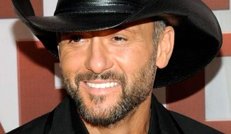 Tim McGraw (Associated Press)
