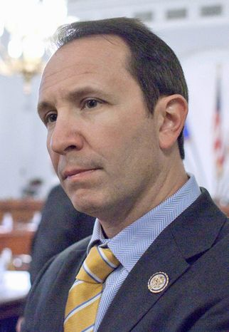 House Natural Resources Committee member Rep. Jeffrey Landry, Louisiana Republican. (AP Photo/Harry Hamburg)