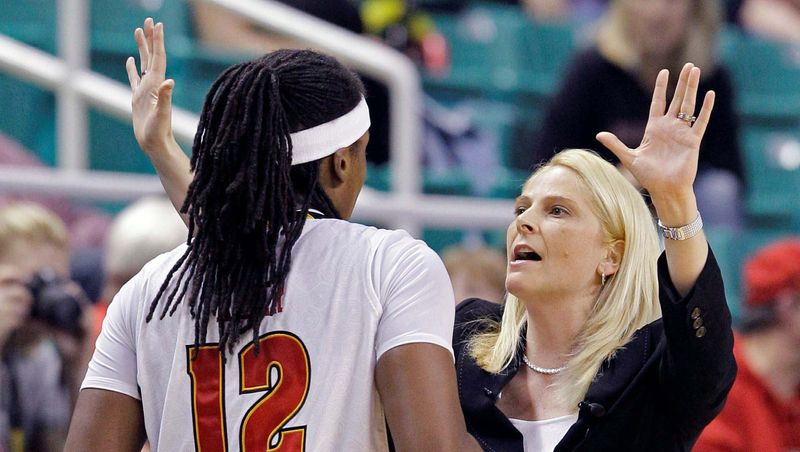 associated press  Brenda Frese has guided Maryland to an NCAA national championship and four trips to the Elite Eight.