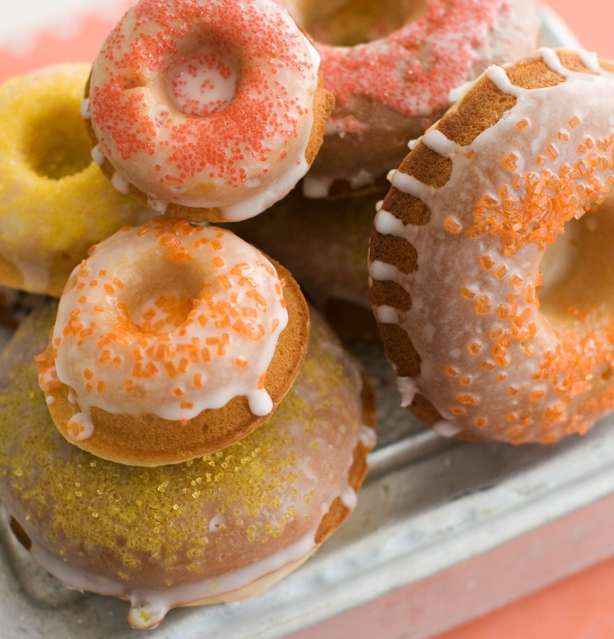 Homemade doughnuts are tasty and tempting to one and all. (Associated Press)