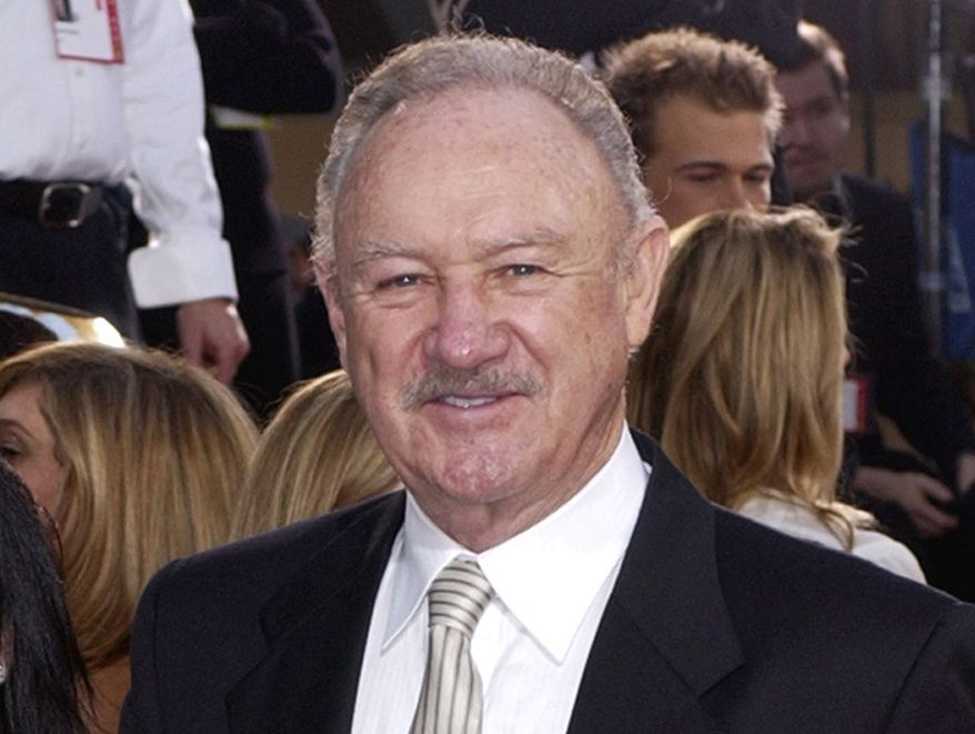 ** FILE ** Oscar-winning actor Gene Hackman attends the Golden Globe Awards in Beverly Hills, Calif., in 2003. (AP Photo/Mark J. Terrill)
