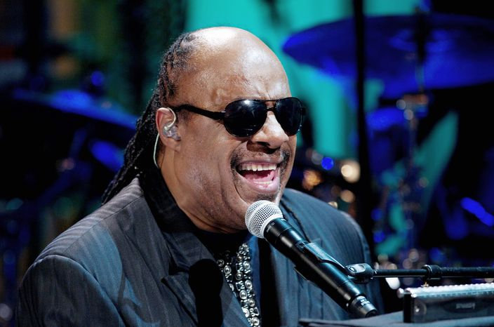 Stevie Wonder (AP photo)