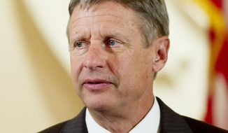**FILE** Gary Johnson, Libertarian Party presidential candidate (Rod Lamkey Jr./The Washington Times)