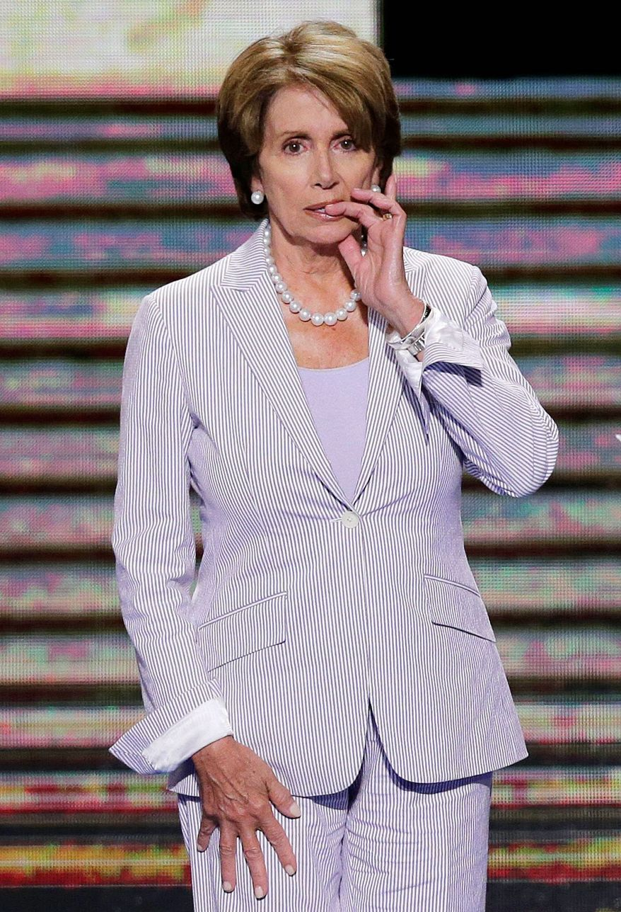 Whether House Minority Leader Nancy Pelosi will remain a party caucus leader after the election is one of the biggest mysteries on Capitol Hill. If the Democrats fail to win back the House, speculation of the party injecting new blood into its leadership only will increase. Mrs. Pelosi has remained tight-lipped on the matter. (Associated Press)
