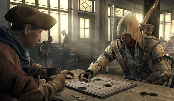 Play a leisurely board game before wiping out the British army in the video game Assassin's Creed III.