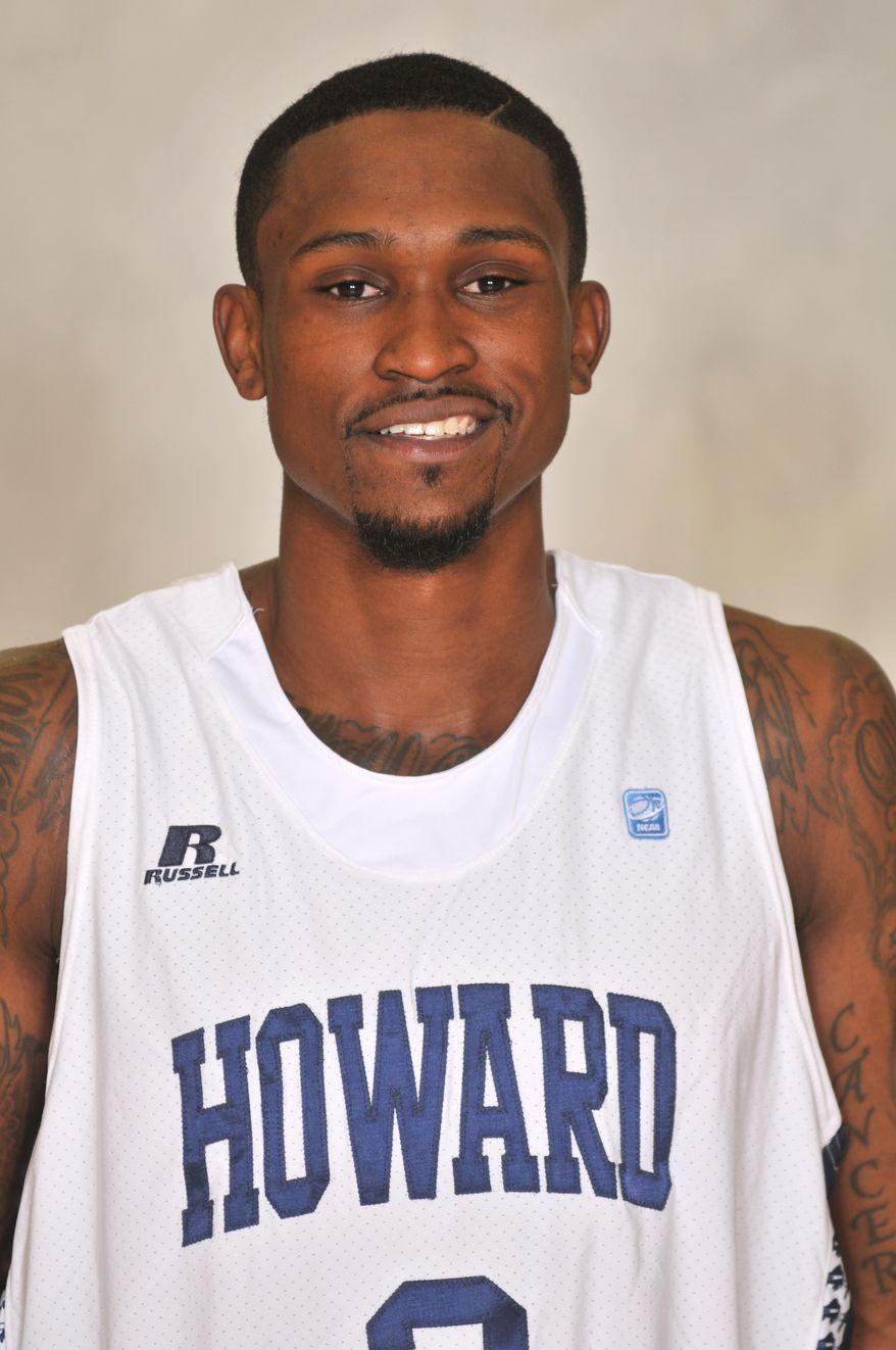 Howard guard Calvin Johnson averaged 12 points as a sophomore, but then dipped to 9.5 games last year after a year missing most of the 2010-11 season due to an ACL tear. (Howard University Athletics)