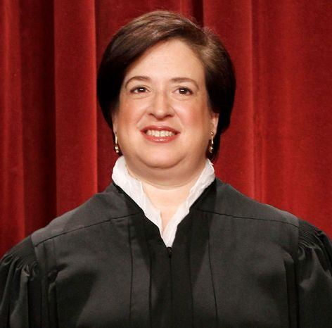 Justice Elena Kagan noted that when a judge errs in instructing jurors before they deliberate, the government may not appeal if the defendant is found not guilty. (Associated Press)