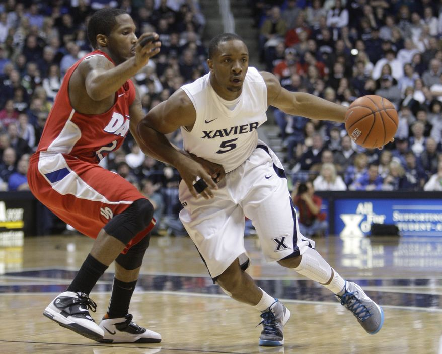 Xavier tranfer Dez Wells was ruled eligible to play for Maryland immediately by the NCAA on Wednesday. (Associated Press)
