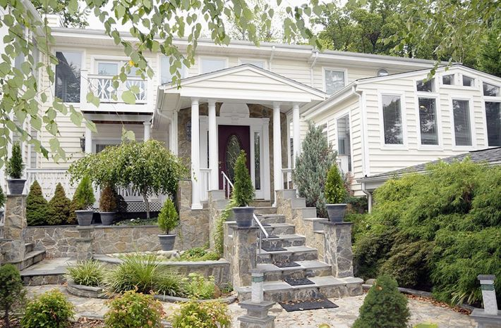 The home at 3906 Railroad Ave. in Fairfax is on the market for $999,000. The five-bedroom home has four full baths and a powder room.