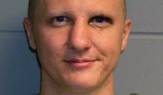 ** FILE ** This photo provided on Feb. 22, 2011, by the U.S. Marshal's Service shows Jared Lee Loughner. Loughner, who pleaded guilty in the Arizona shooting rampage, will be sentenced Thursday, Nov. 8, 2012, for the attack that left six people dead and wounded former U.S. Rep. Gabrielle Giffords as well as 12 others. (AP Photo/U.S. Marshal's Office, File)