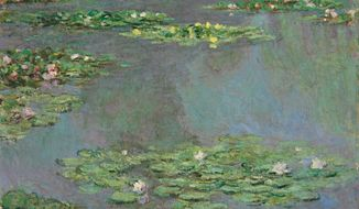 "This image provided by Christie's Images, Ltd, in New York, Friday Nov. 9, 2012, shows a work from Claude Monet's ""Water Lilies"" series. (Associated Press/Christie's Images Ltd.)"