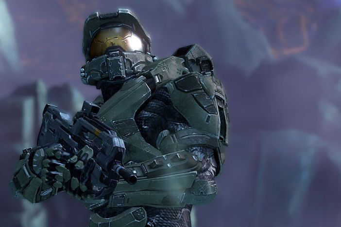 The Master Chief returns in the video game Halo 4.