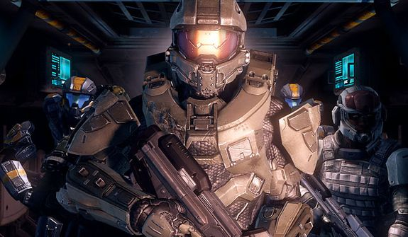 Master Chief and his Spartan pals are back in the video game Halo 4.