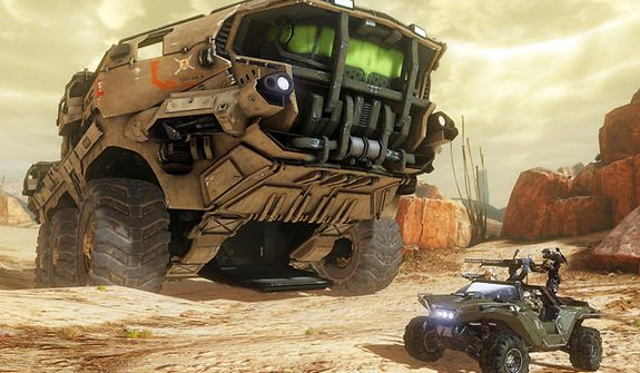 The UNSC's Mammoth vehicle appears in the video game Halo 4.