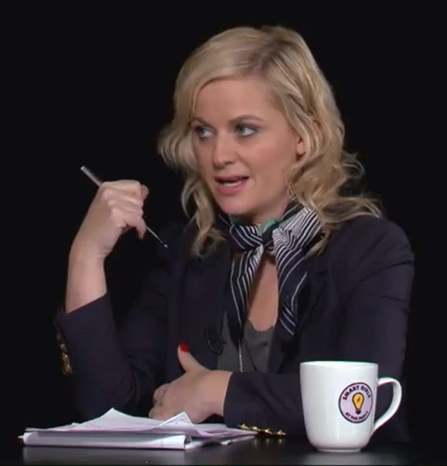 "A frame grab of Amy Poehler in ""Smart Girls"". (Youtube)"