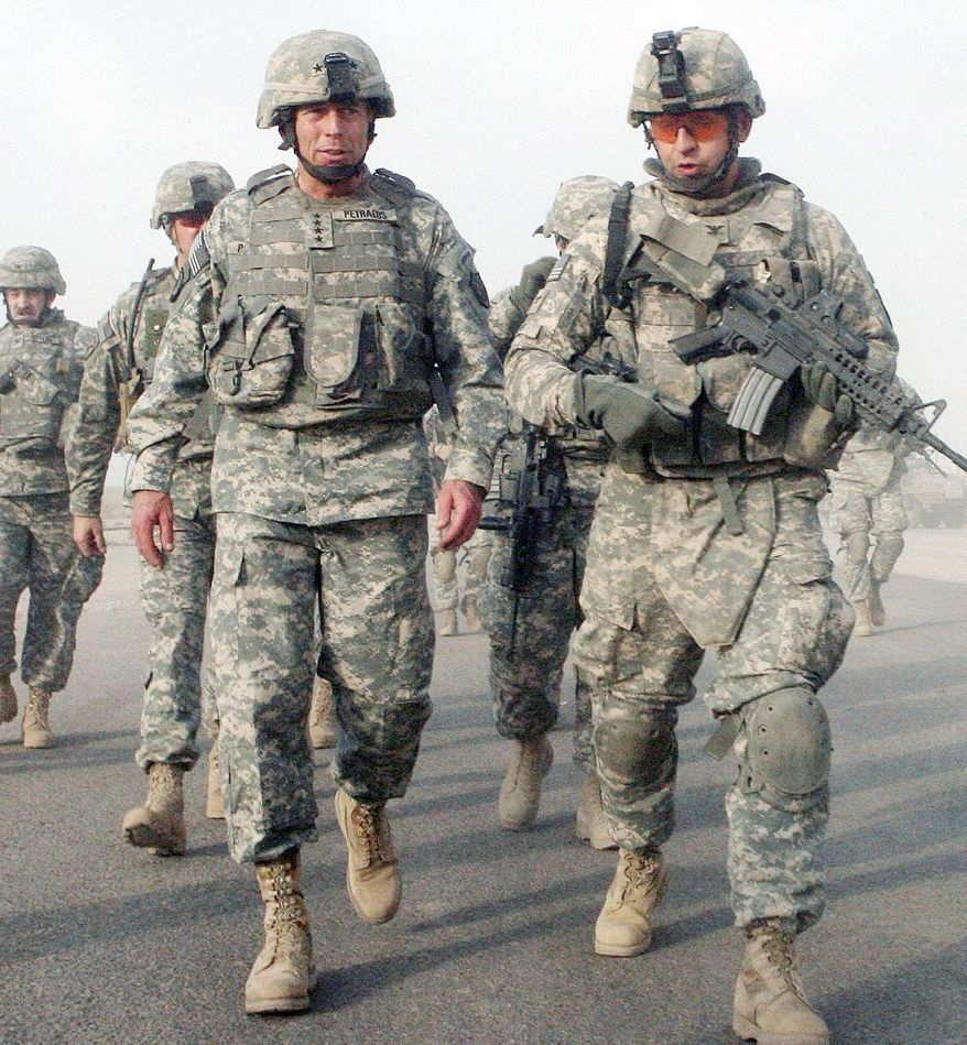 2007: The U.S. commander, visiting an Iraqi village, hears that the security situation has improved dramatically. (Associated Press)