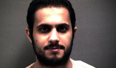 This undated photo provided by the Randall County Sheriff's Department in Texas shows Khalid Ali-M Aldawsari, the Saudi man who is accused of gathering bomb components with the intention of targeting sites across the United States, including the home of former President George W. Bush. (Associated Press)