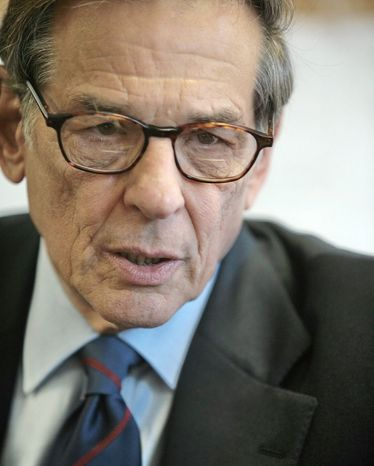 Award-winning biographer Robert Caro, a former investigative journalist who has written about men who have inspired and dismayed him, says his job is to collect as much information as possible before forming opinions about his subjects. (Associated Press)