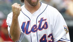 R.A. Dickey is the first knuckleballer to win a Cy Young award. (AP Photo/Paul J. Bereswill, File)