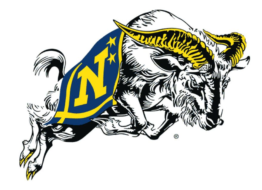 Naval Academy athletics logo.