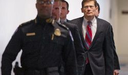 CIA Deputy Director Michael J. Morell arrives for a hearing of the Senate Select Committee on Intelligence. A congressional investigator determined that the State Department has failed to spend money strategically. (Andrew Harnik/The Washington Times)