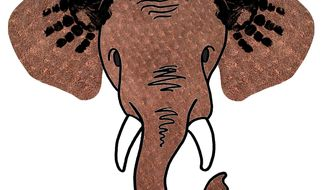 Illustration Pro-life Republicans by Greg Groesch for The Washington Times