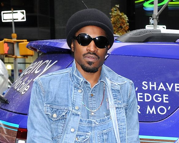 **FILE** Musician and actor Andre Benjamin, better known as Andre 3000, attends a promotional event for Gillette in New York on Nov. 13, 2012. (Evan Agostini/Invision/Asso