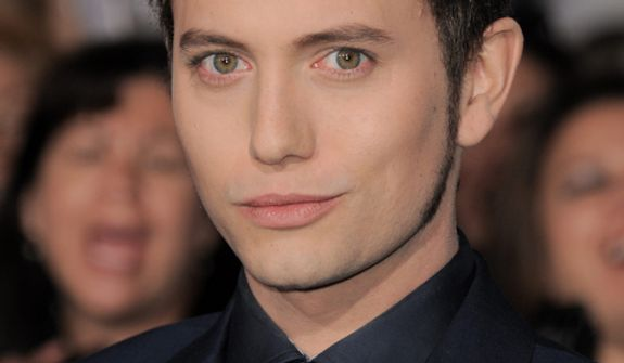"""Jackson Rathbone attends the world premiere of """"The Twilight Saga: Breaking Dawn Part 2"""" at the Nokia Theatre on Monday, Nov. 12, 2012, in Los Angeles. (Photo by Jordan Strauss/Invision/AP)"""