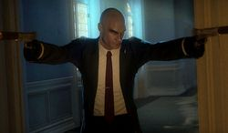 Agent 47 is back in the video game Hitman: Absolution.