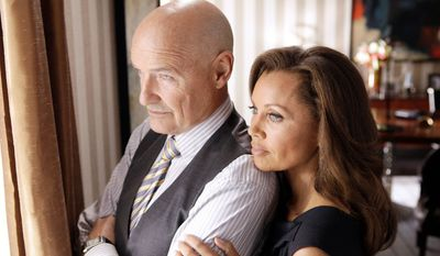 "** FILE ** This publicity file image released by ABC shows Vanessa Williams, right, and Terry O'Quinn in a scene from the ABC series, ""666 Park Avenue."" ABC canceled two low-rated new TV series, ""Last Resort"" and ""666 Park Avenue,"" and didn't announce Friday, Nov. 16, 2012, what will replace the two series after they finish airing. (AP Photo/ABC, Patrick Harbron, File)"