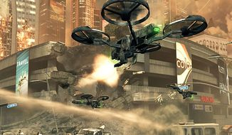 Control some amazing drones in the miltary shooter Call of Duty: Black Ops 2.