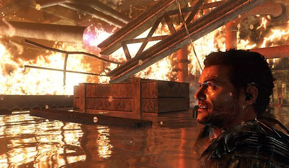 Action can get mighty hot in the miltary shooter Call of Duty: Black Ops 2.