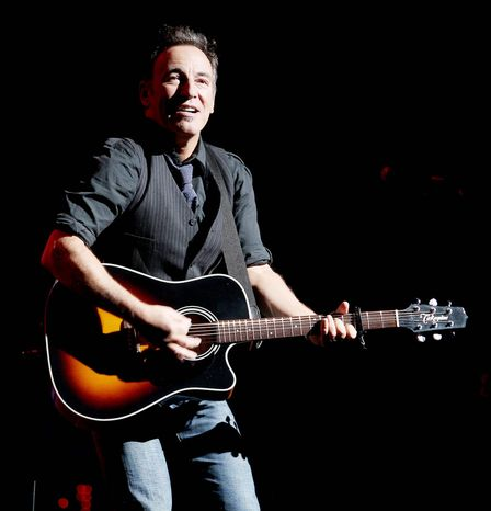 Bruce Springsteen is among entertainers from New Jersey who will serve on the advisory board of the Hurricane Sandy New Jersey Relief Fund. (Associated Press)