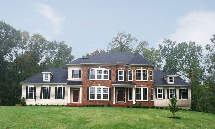 Van Metre Homes is building 26 homes with a golf course view at the Estates at Bull Run Golf Club in Haymarket, Va. The Highland model, with 3,610 finished square feet, is priced from $749,990.