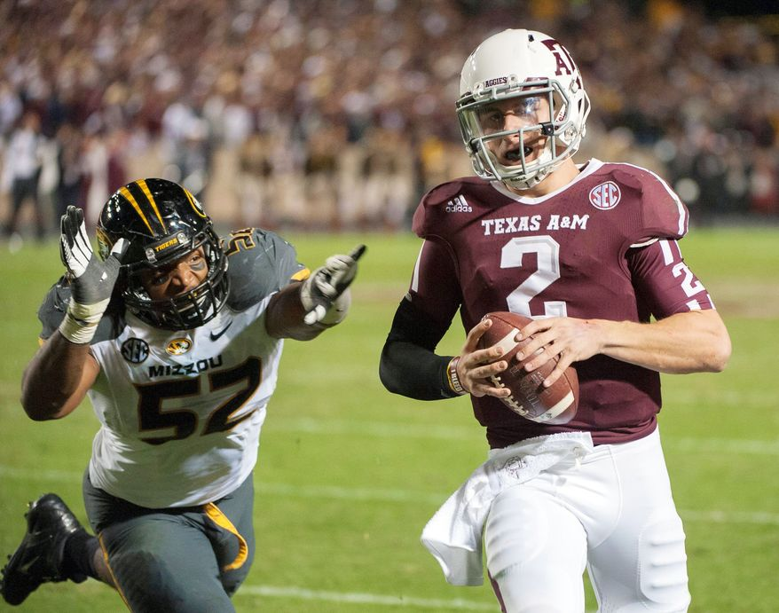 associated press  Freshman quarterback Johnny Manziel has amassed 4,600 yards of offense for 10th-ranked Texas A&M.