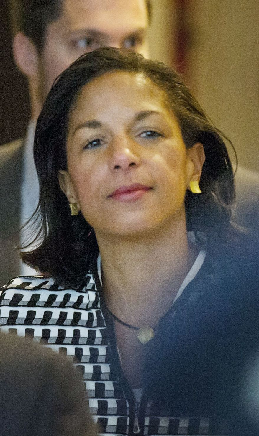 Susan E. Rice, U.N. ambassador, has been meeting with Republicans after the uproar about the handling of the Benghazi attack. (Andrew Harnik/The Washington Times)