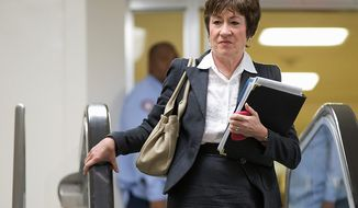Sen. Susan M. Collins, Maine Republican (AP Photo/Evan Vucci)