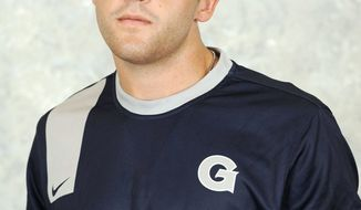 Georgetown freshman soccer player Brandon Allen. (Georgetown Athletics)